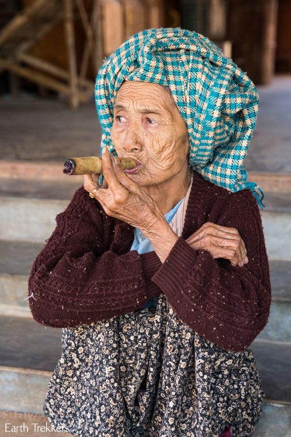 Cigar Lady