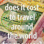 Cost to travel around the world