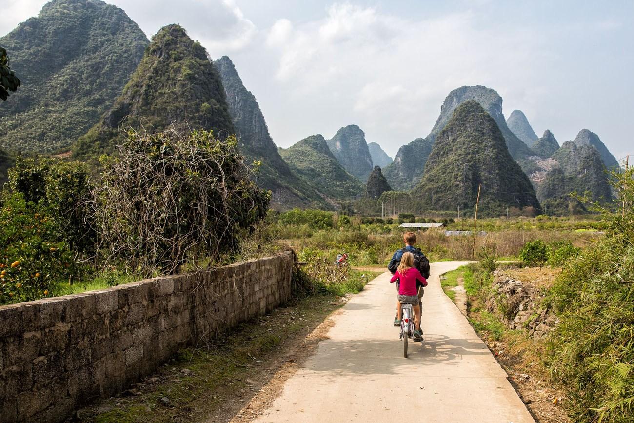 Cycling China