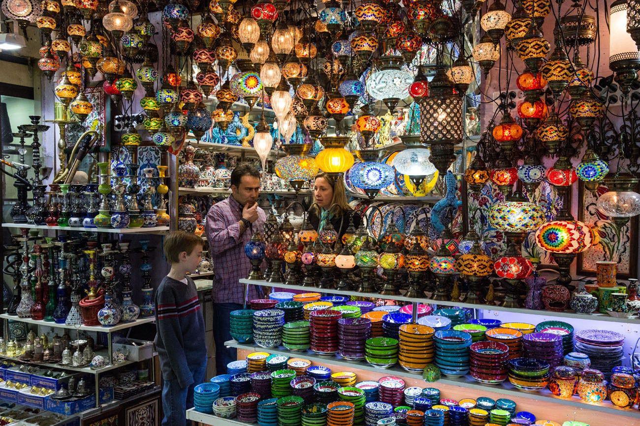 Grand Bazaar Shopping