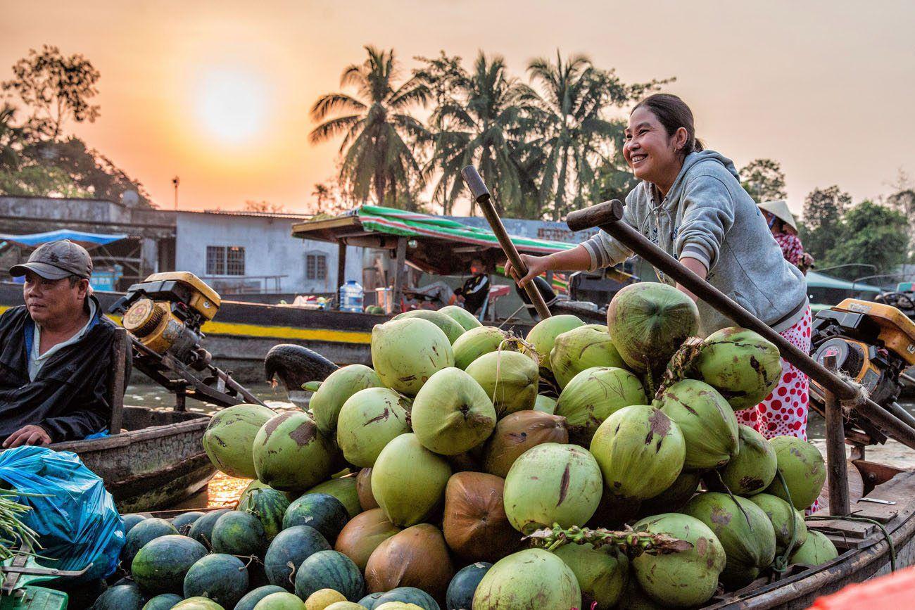 Happy Lady Vietnam