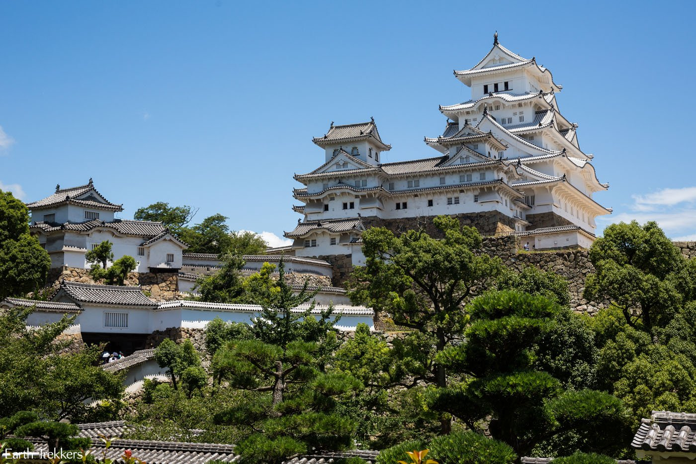 Day Trip to Himeji Castle in Japan | Earth Trekkers