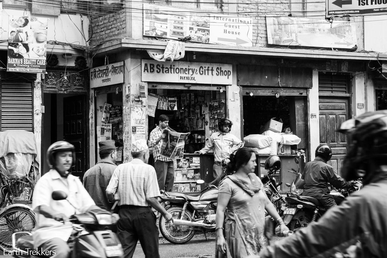 Kathmandu in action