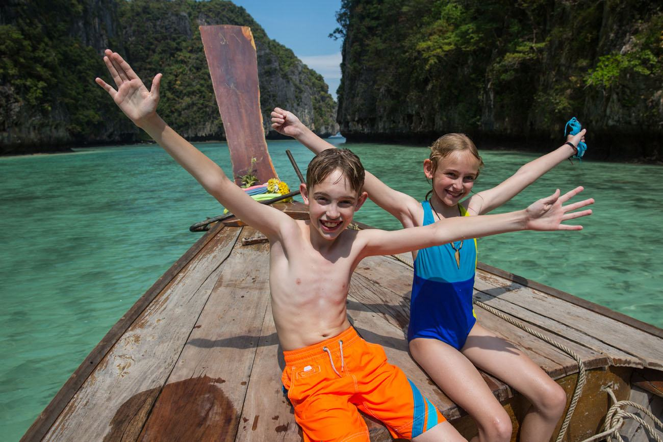 Kids in Krabi