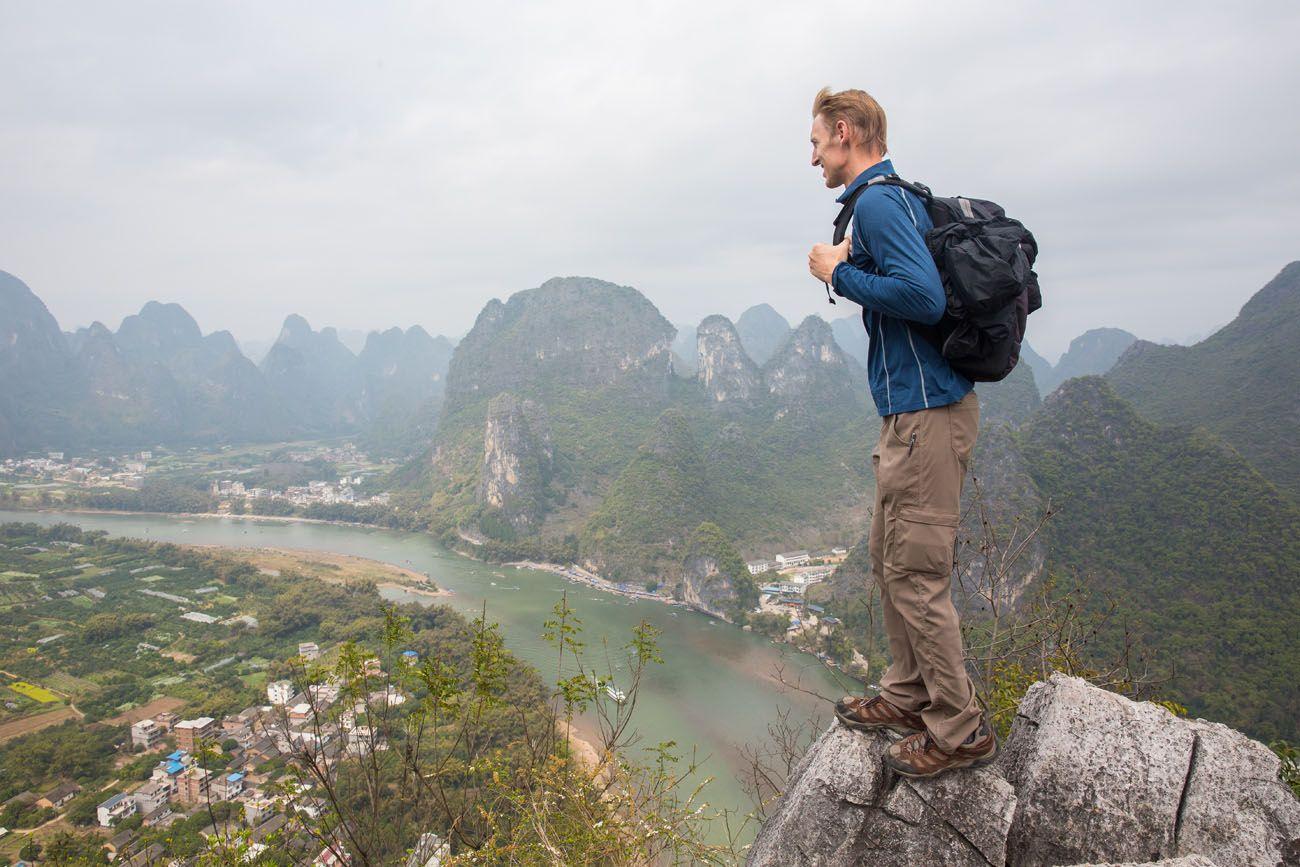 Tim in China