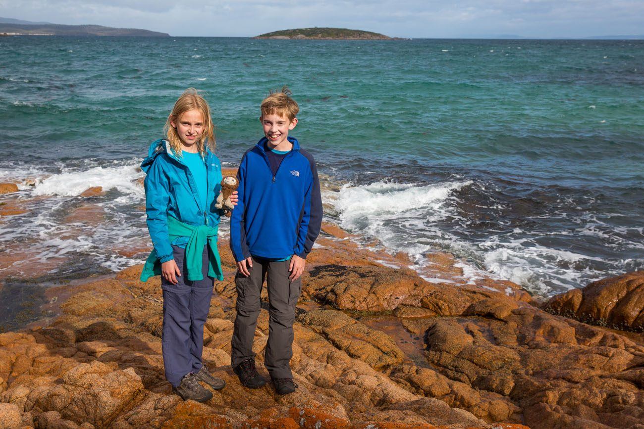Tyler and Kara Tasmania