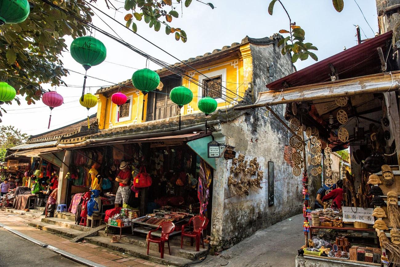 Visiting Hoi An