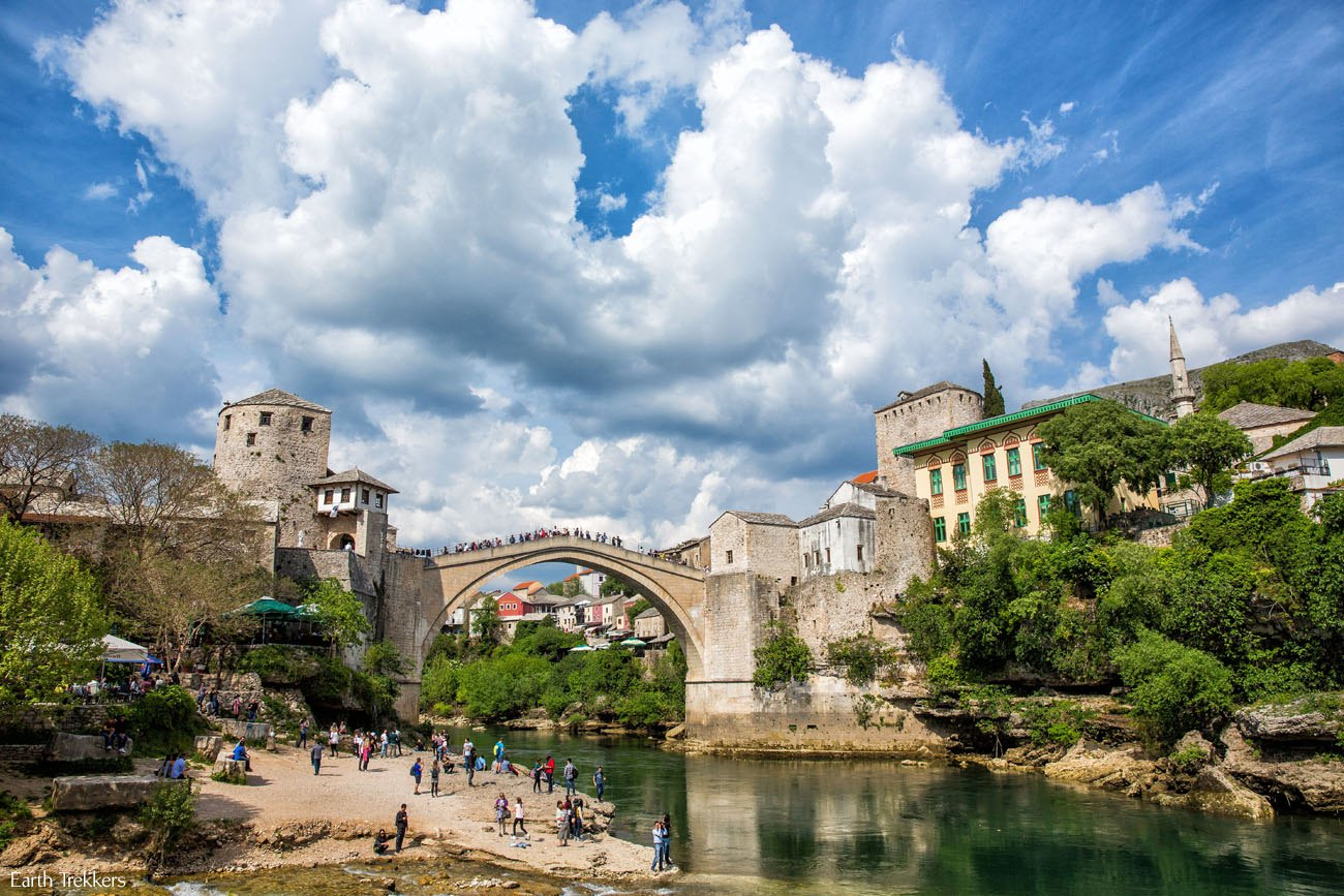 Mostar Bridge April