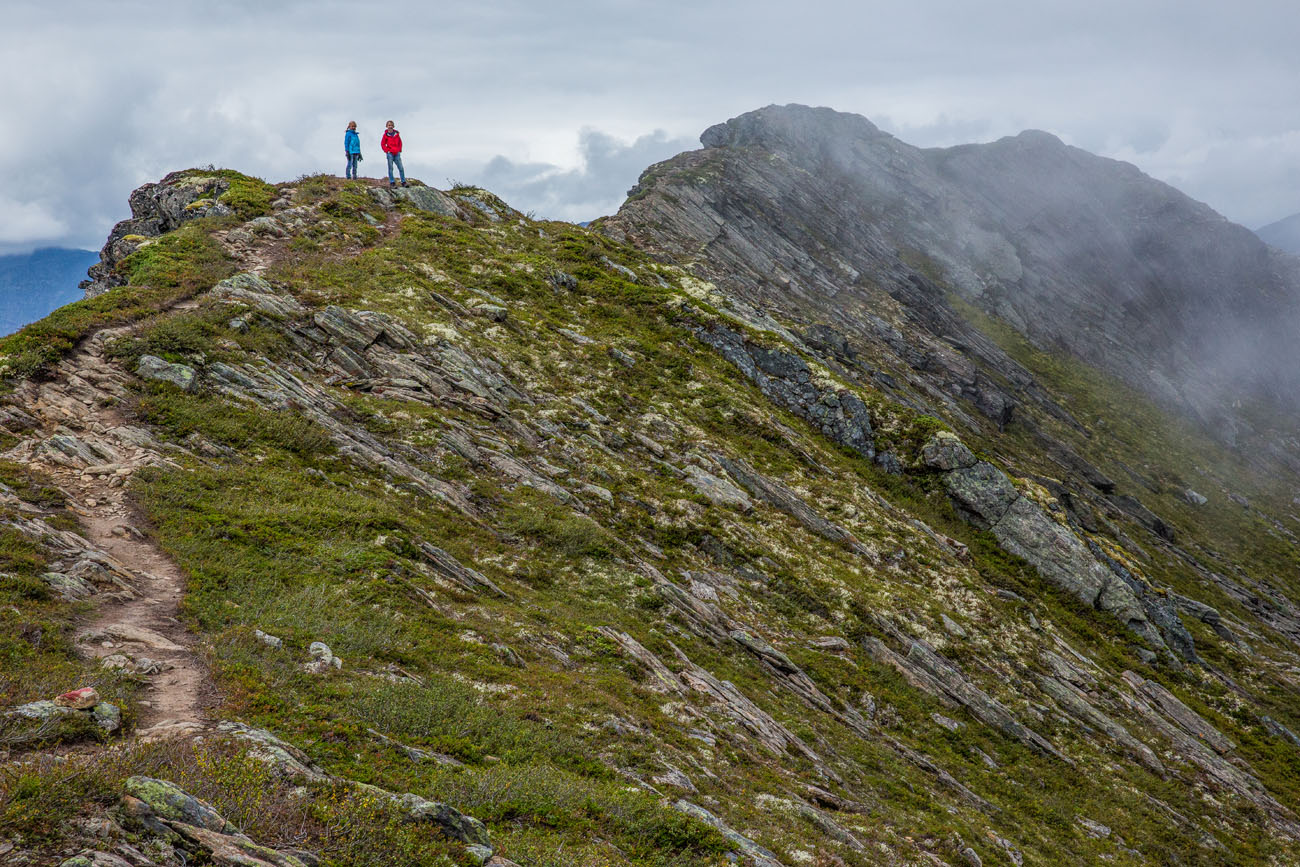Romsdalseggen Ridge with Kids