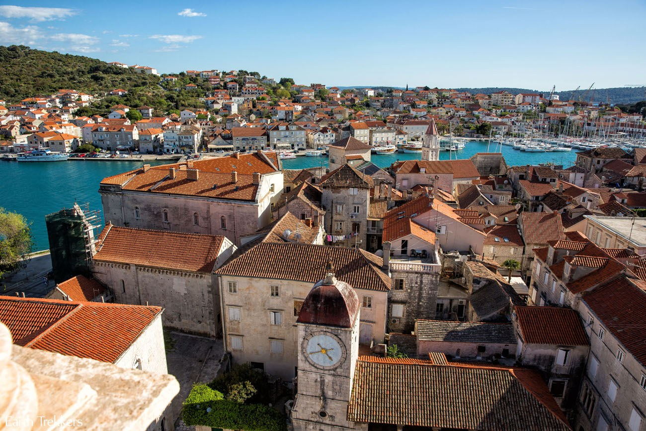The lovely town of Trogir Croatia