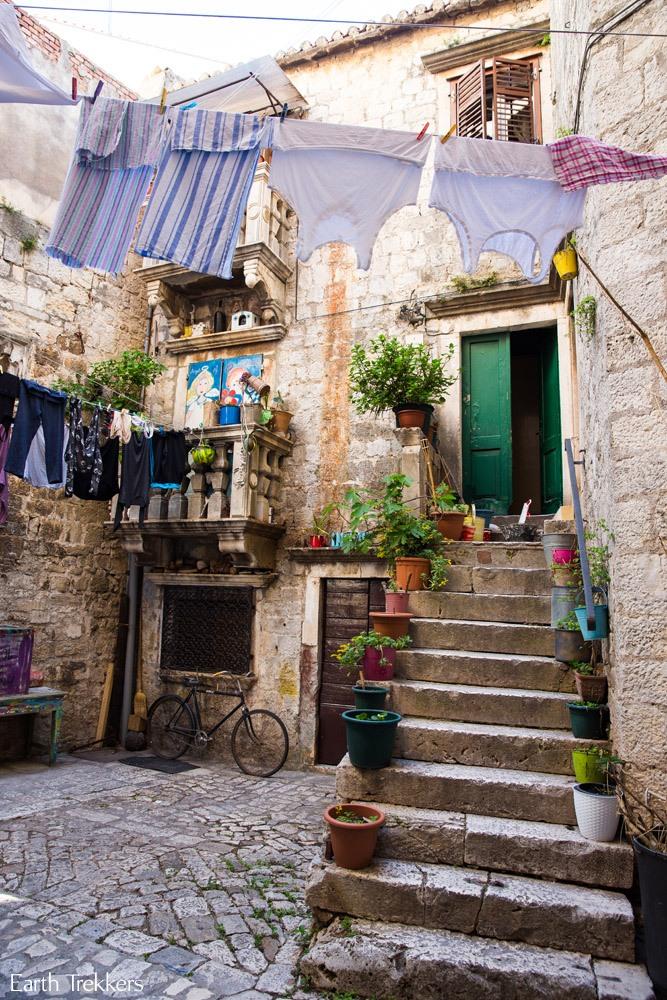 Trogir Street Scene