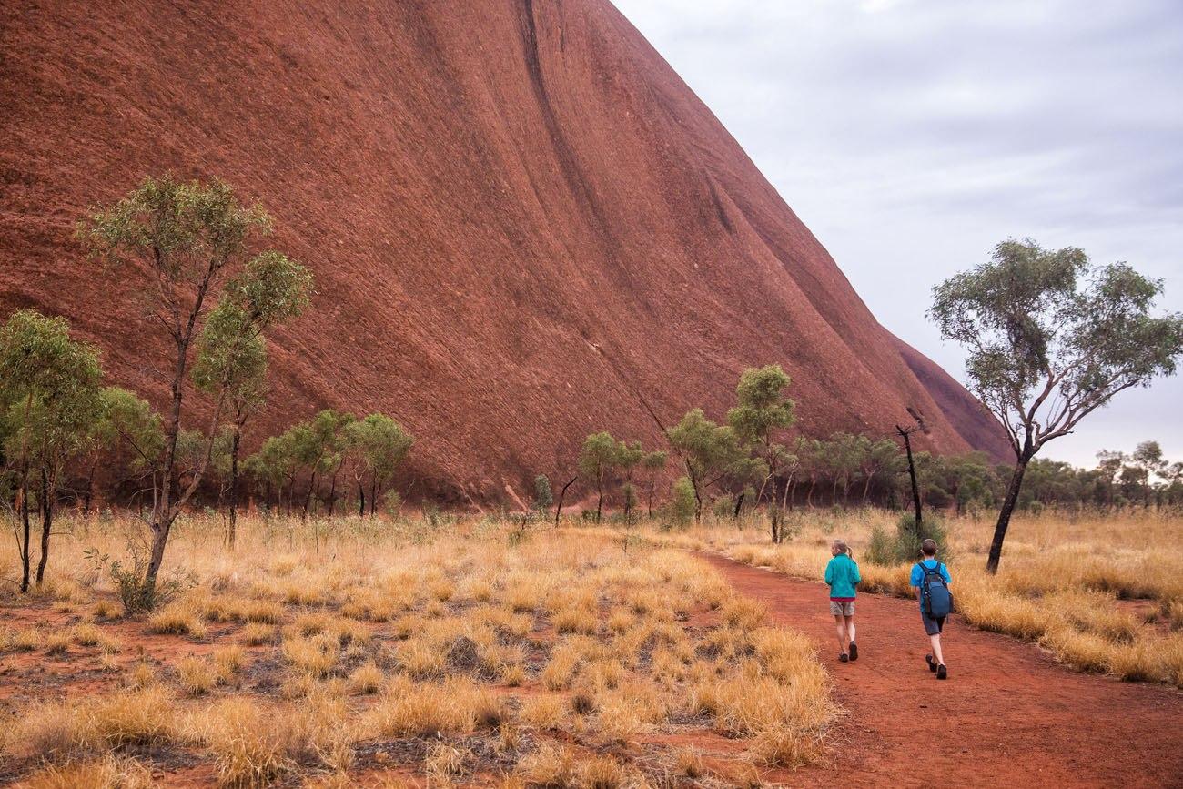 Uluru Base Walk with Kids
