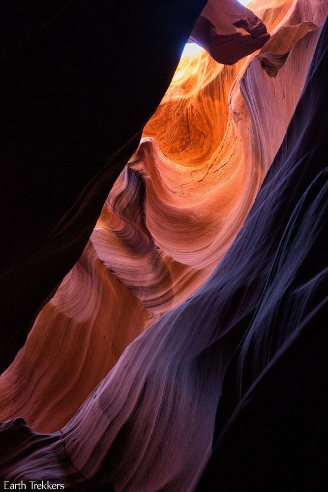 Antelope Canyon Rainbow