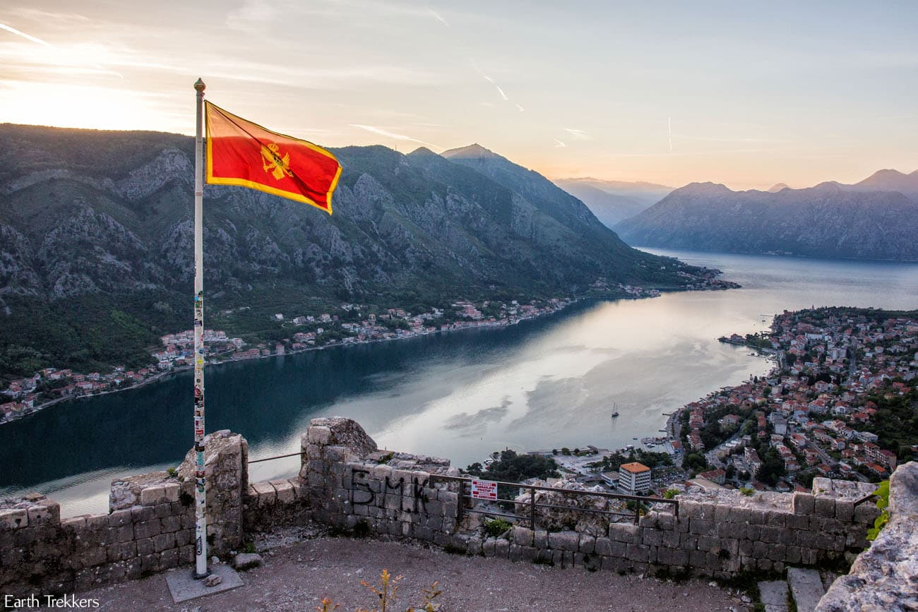 Kotor at Sunset