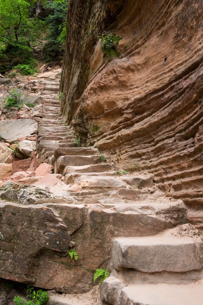 Hidden Canyon Stairs