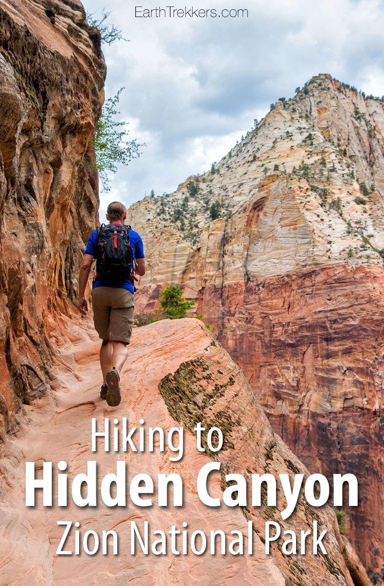 Hidden Canyon Zion National Park