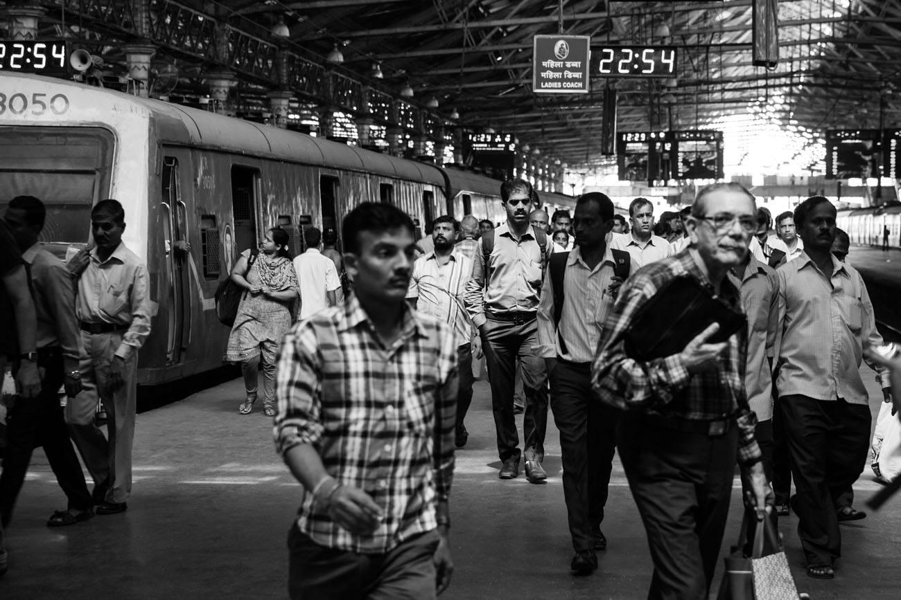 India Train Station