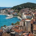 Overlooking Split Croatia