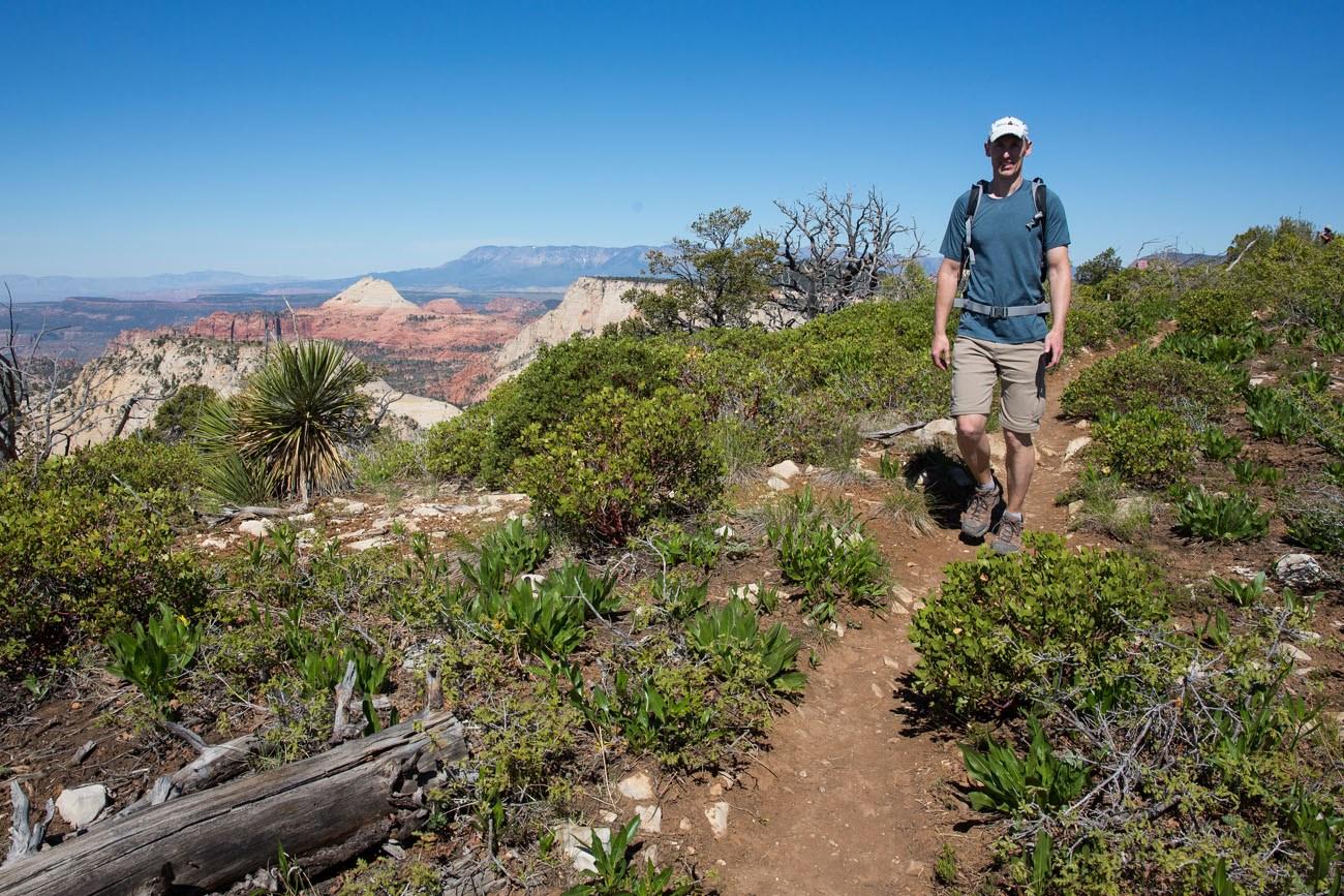 Tim Hiking