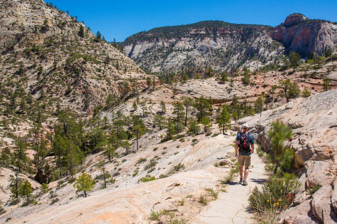 Tim on West Rim Trail