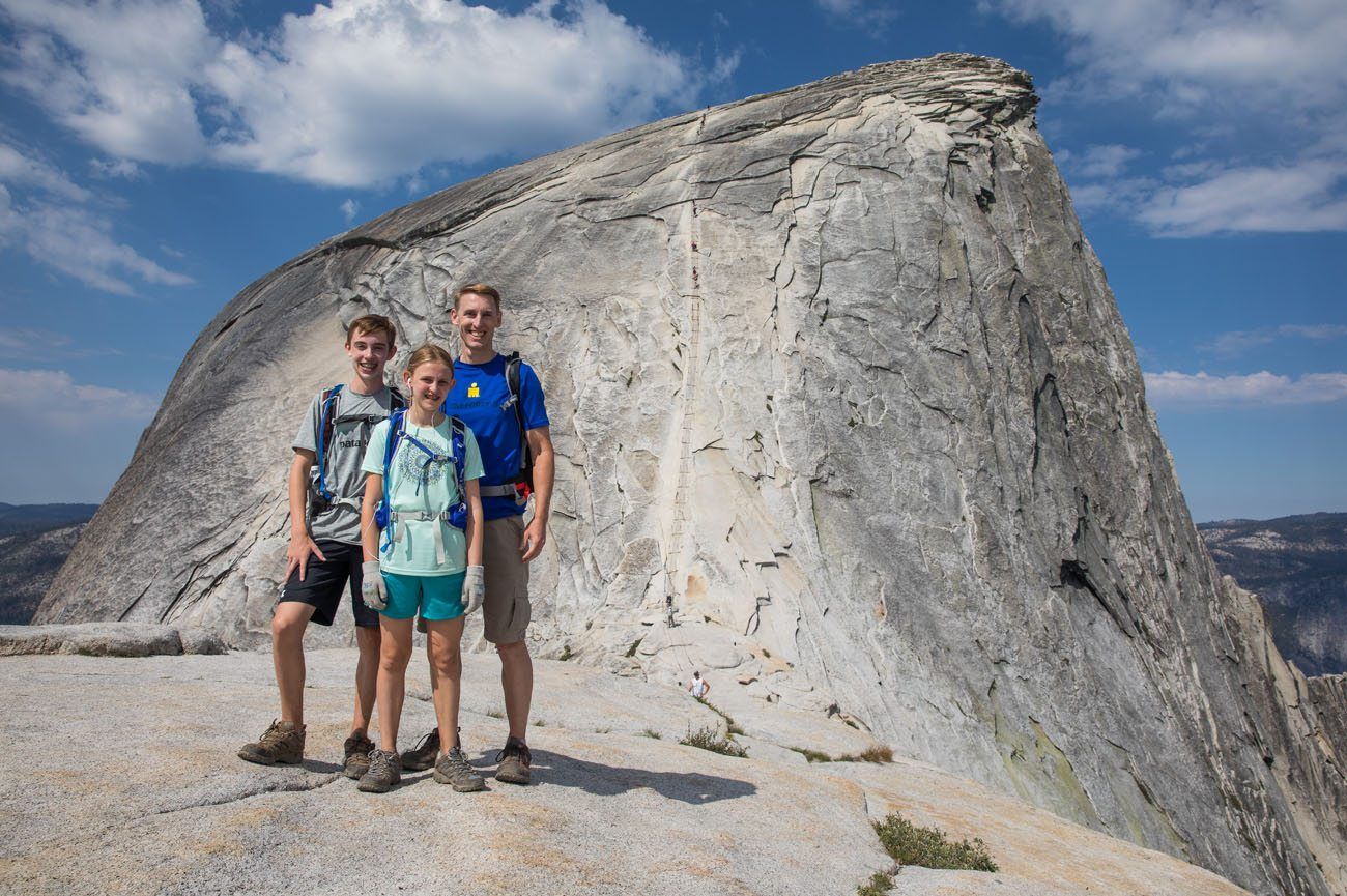 Earth Trekkers Half Dome