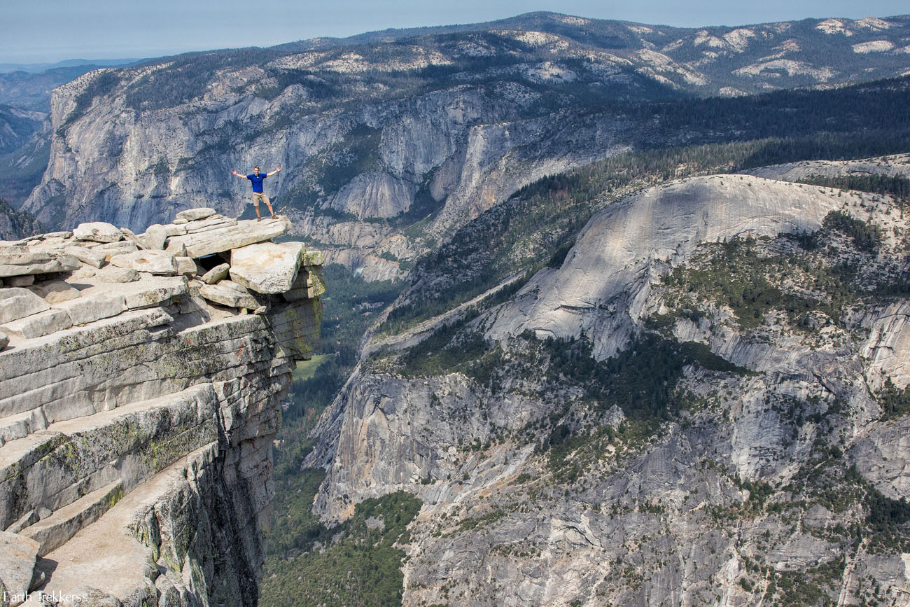 Half Dome Diving Board