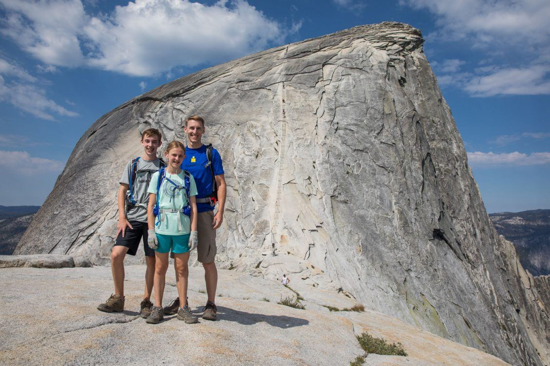 Half Dome with Kids