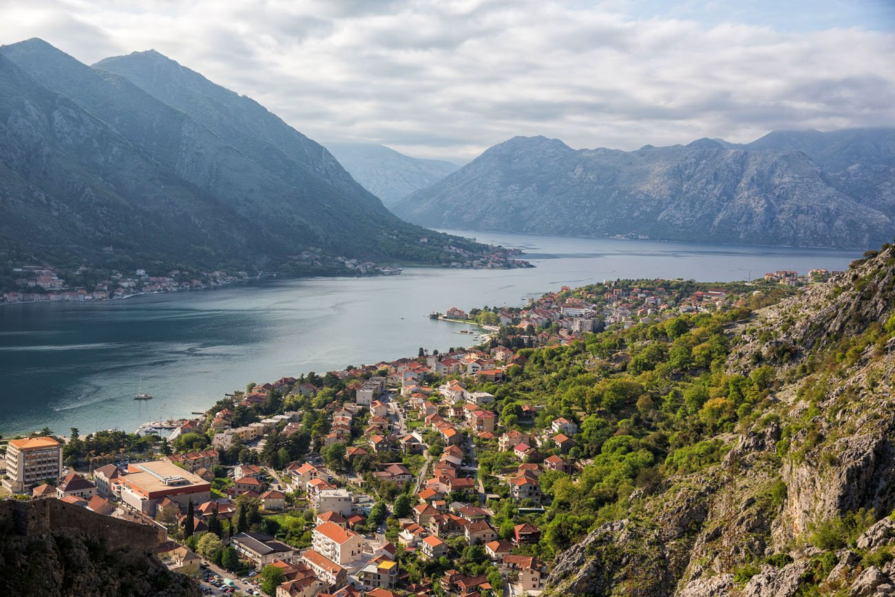 Kotor from the Trail