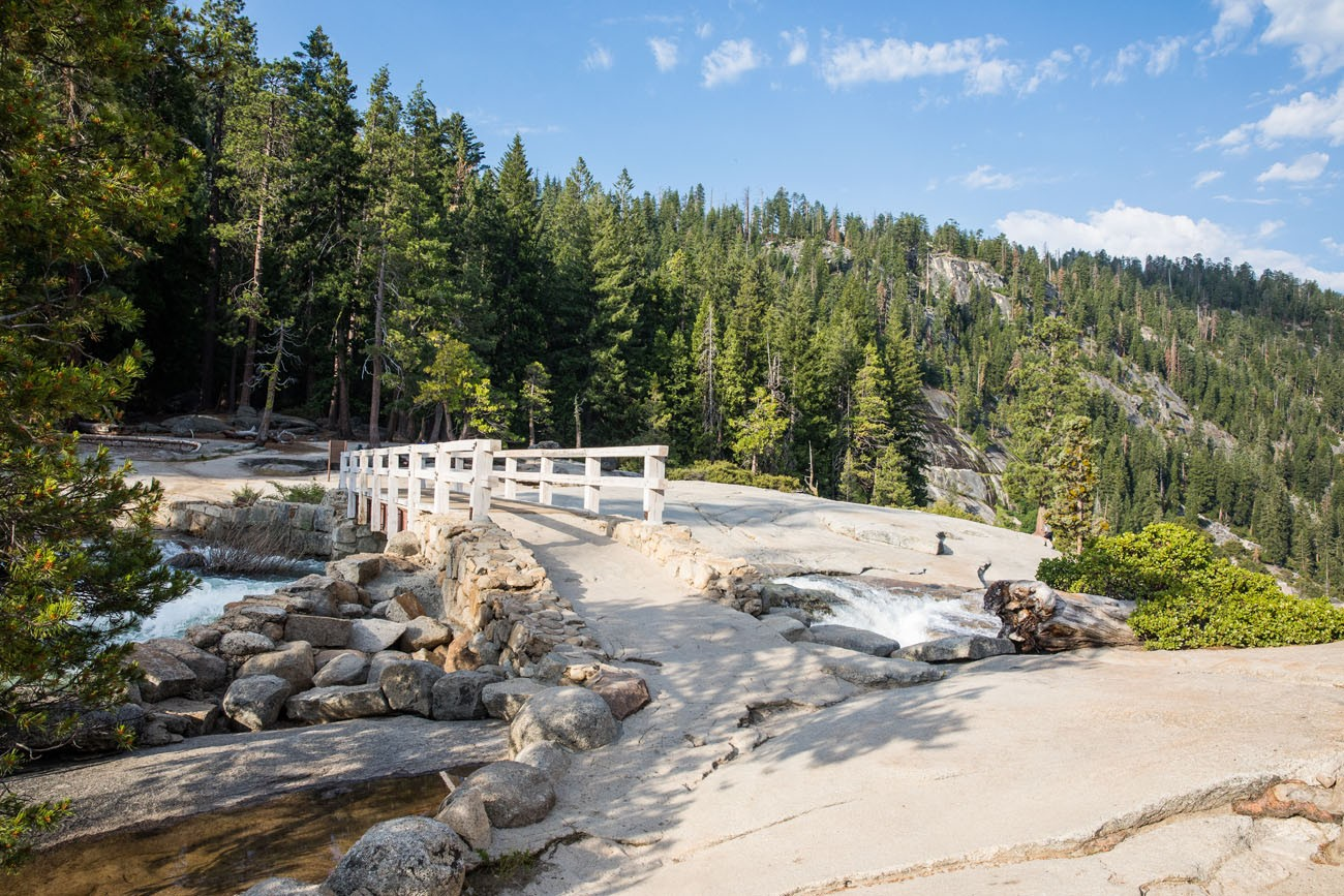 Nevada Falls Footbridge