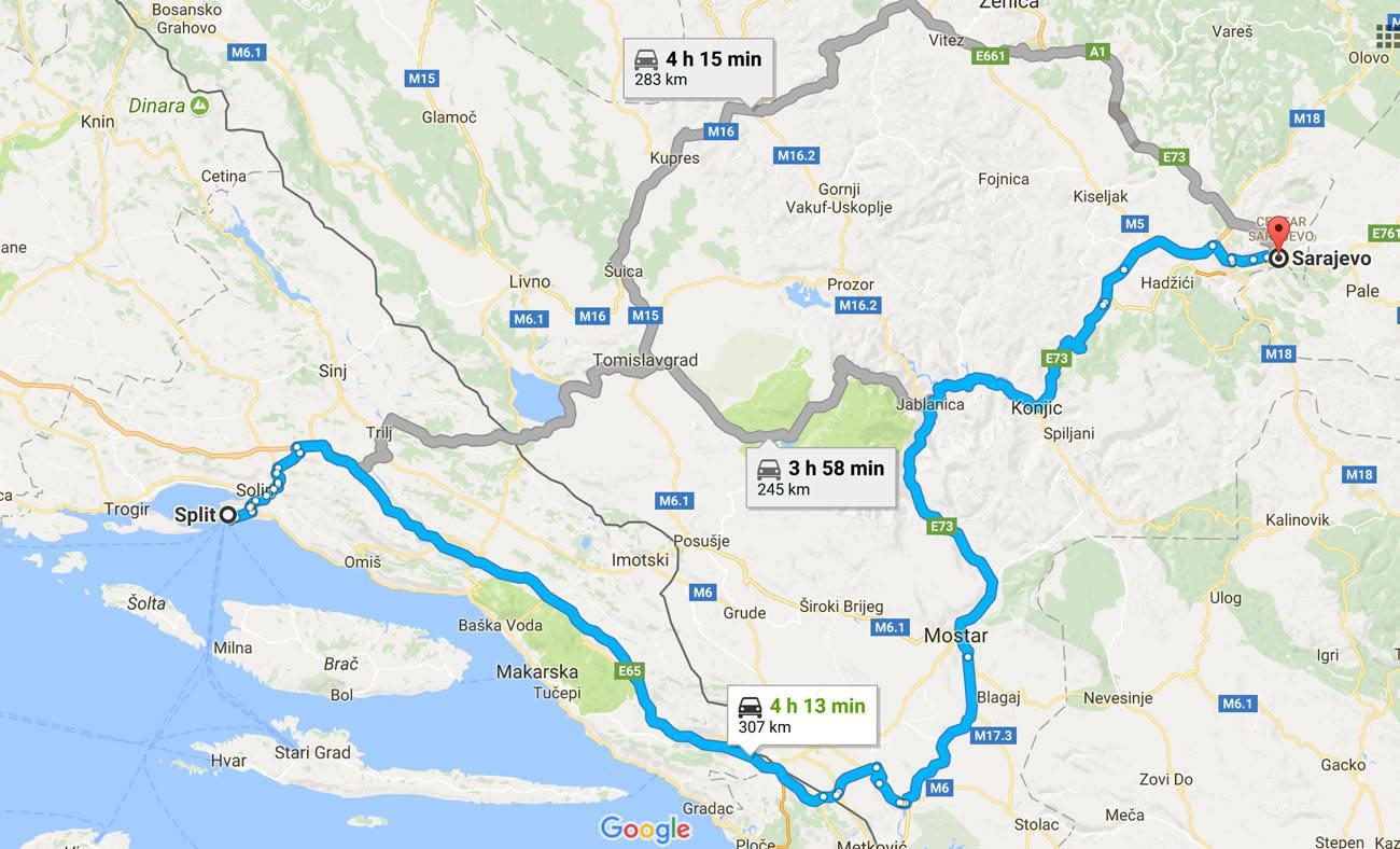 11 Day Balkan Peninsula Itinerary Croatia Montenegro and Bosnia