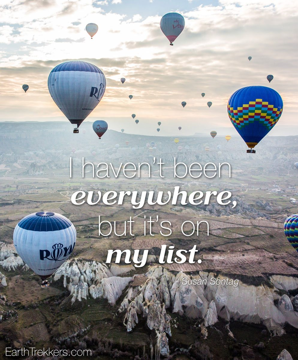 On My List Travel Quote