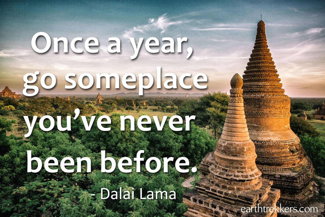 Quotes Travel 60 Travel Quotes To Feed Your Wanderlust  Earth Trekkers
