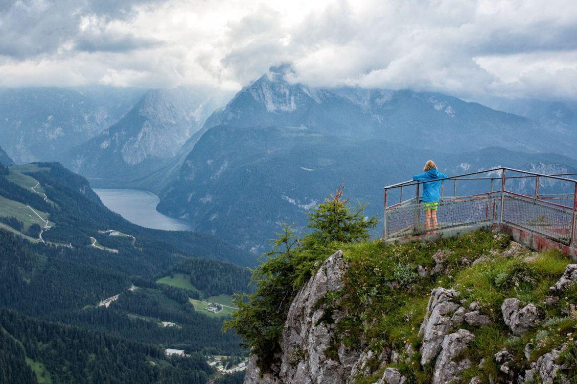 Overlooking Berchtesgaden