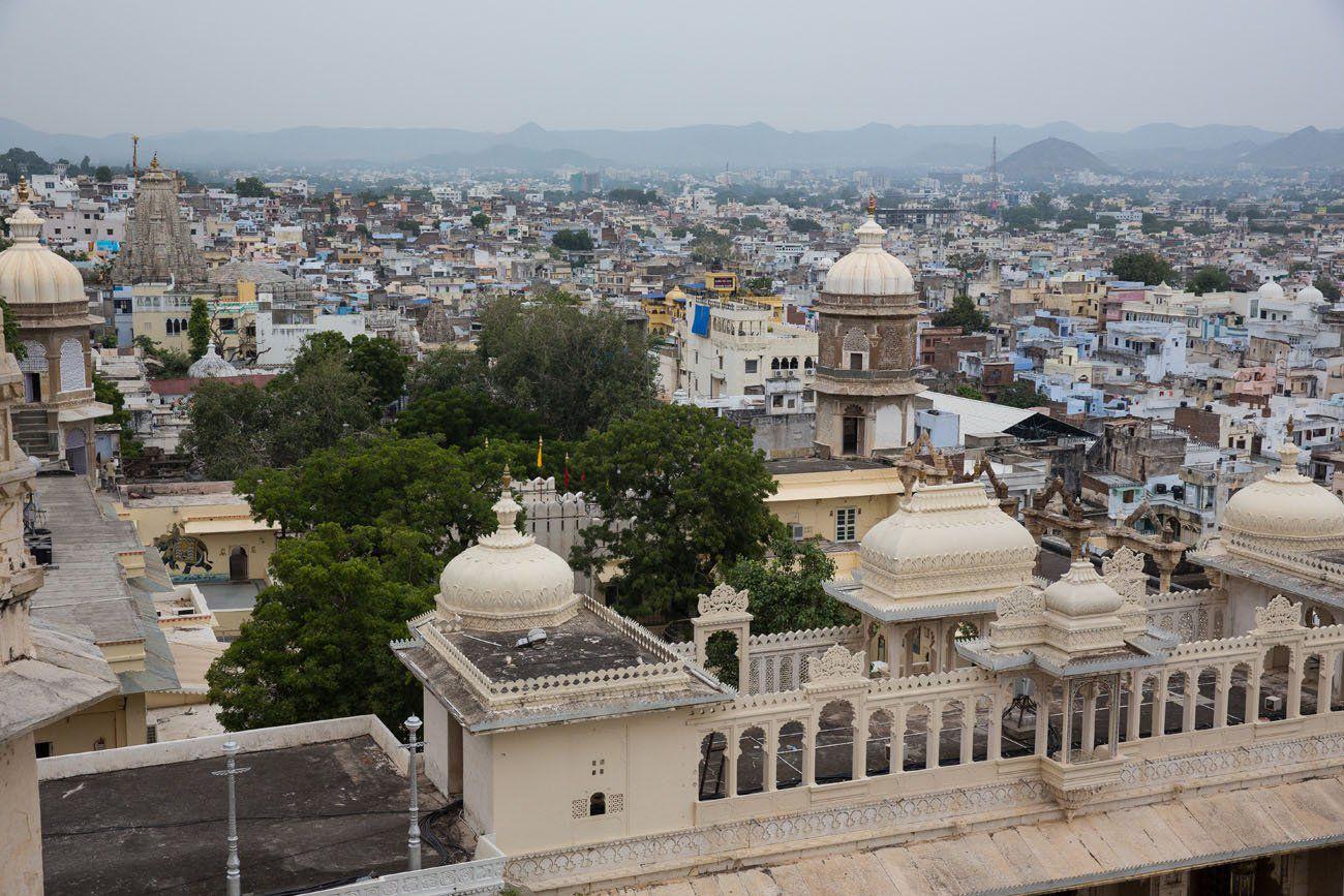 Overlooking Udaipur
