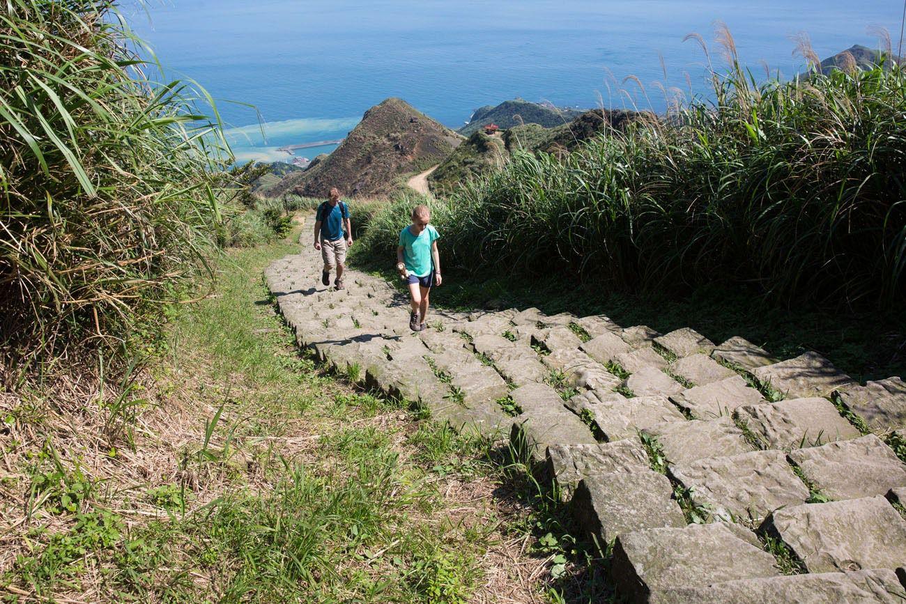 Teapot Mountain steps