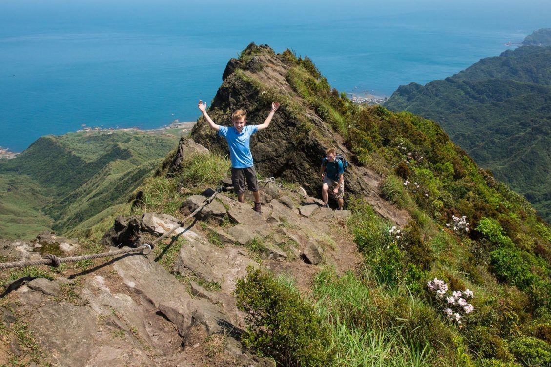 Teapot Mountain with kids