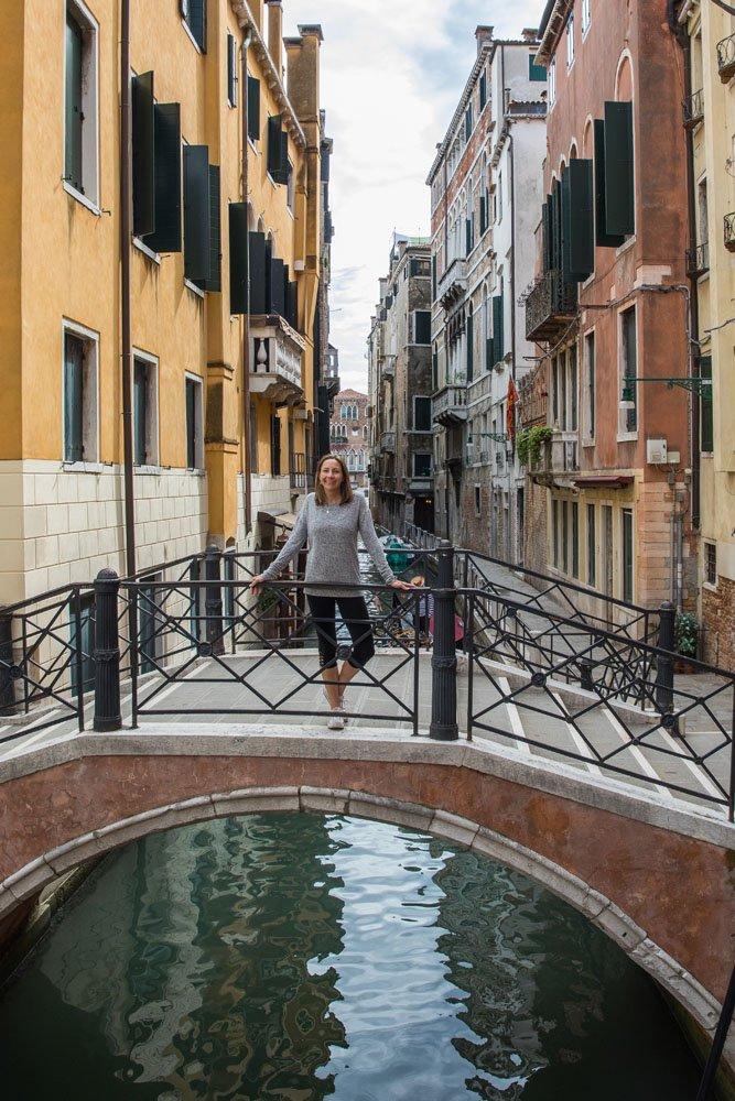 Julie in Venice