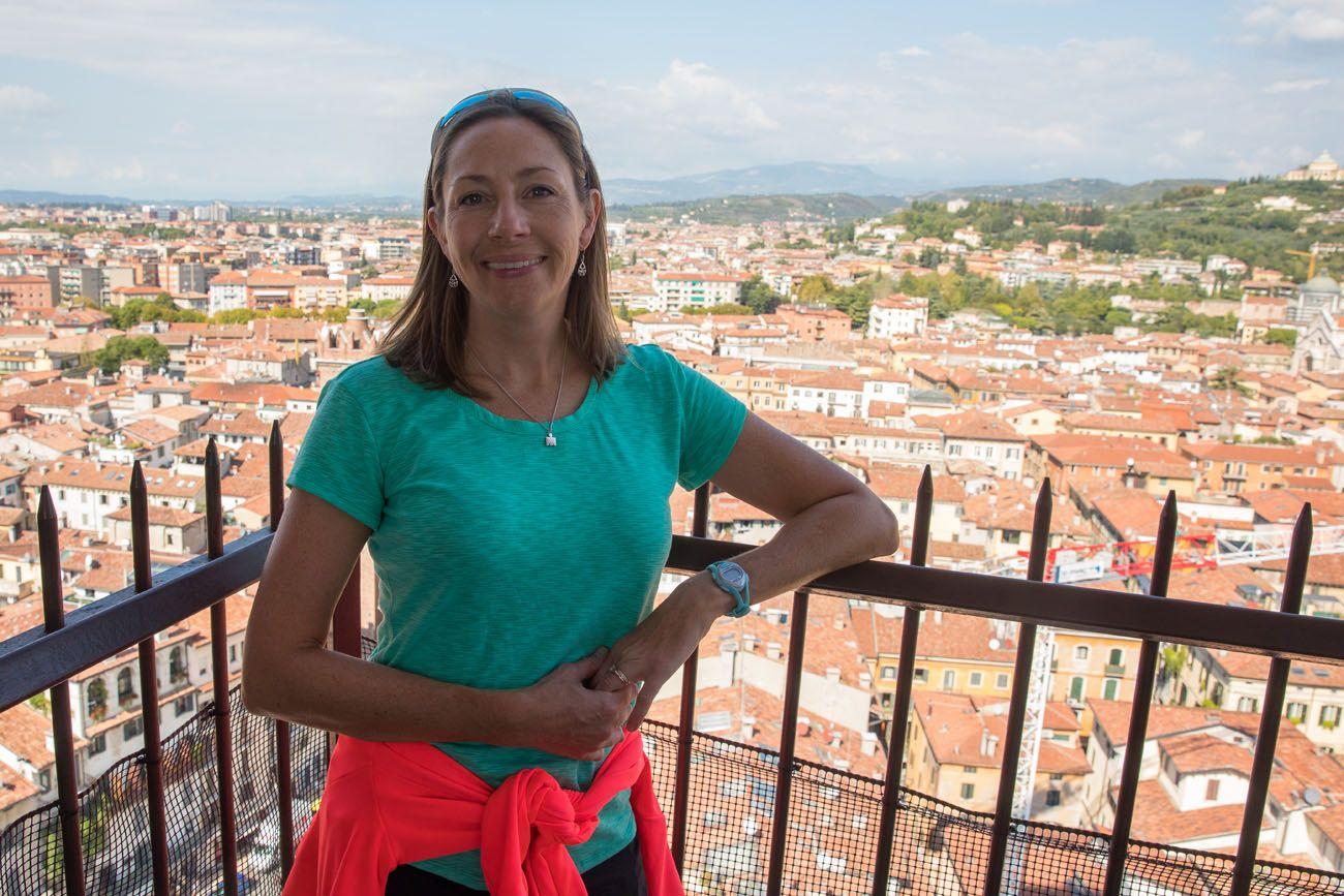 Julie in Verona Italy