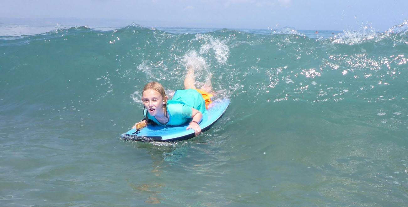 Kara Boogie Boarding