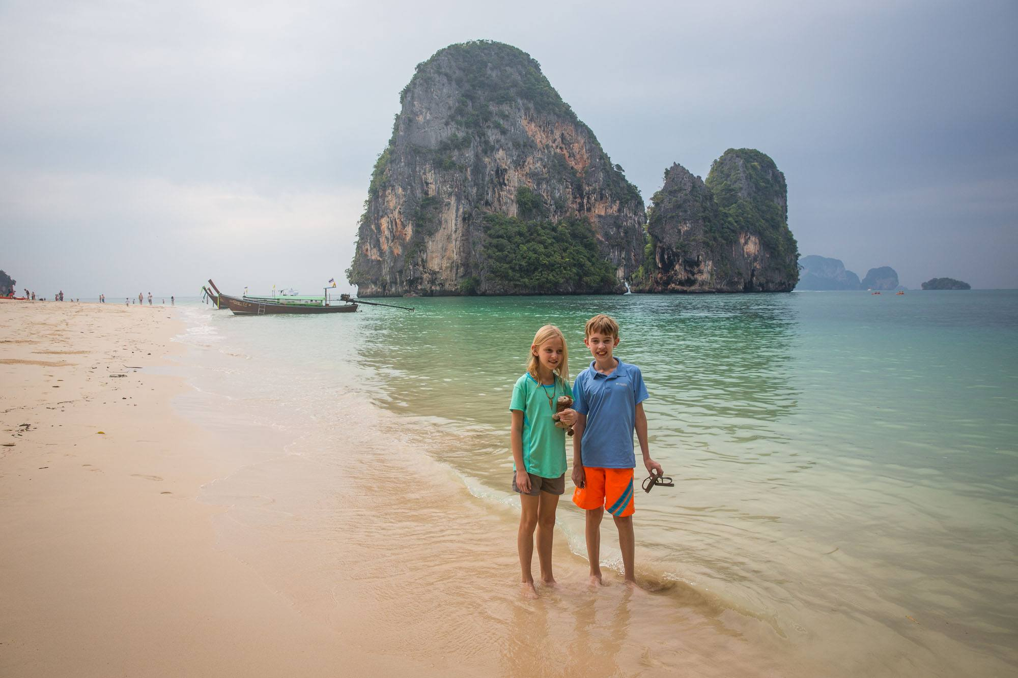 Krabi Thailand with kids