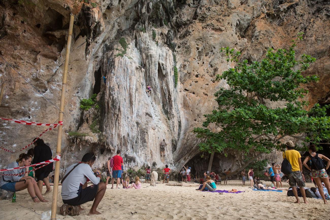 Phra Nang Rock Climbing