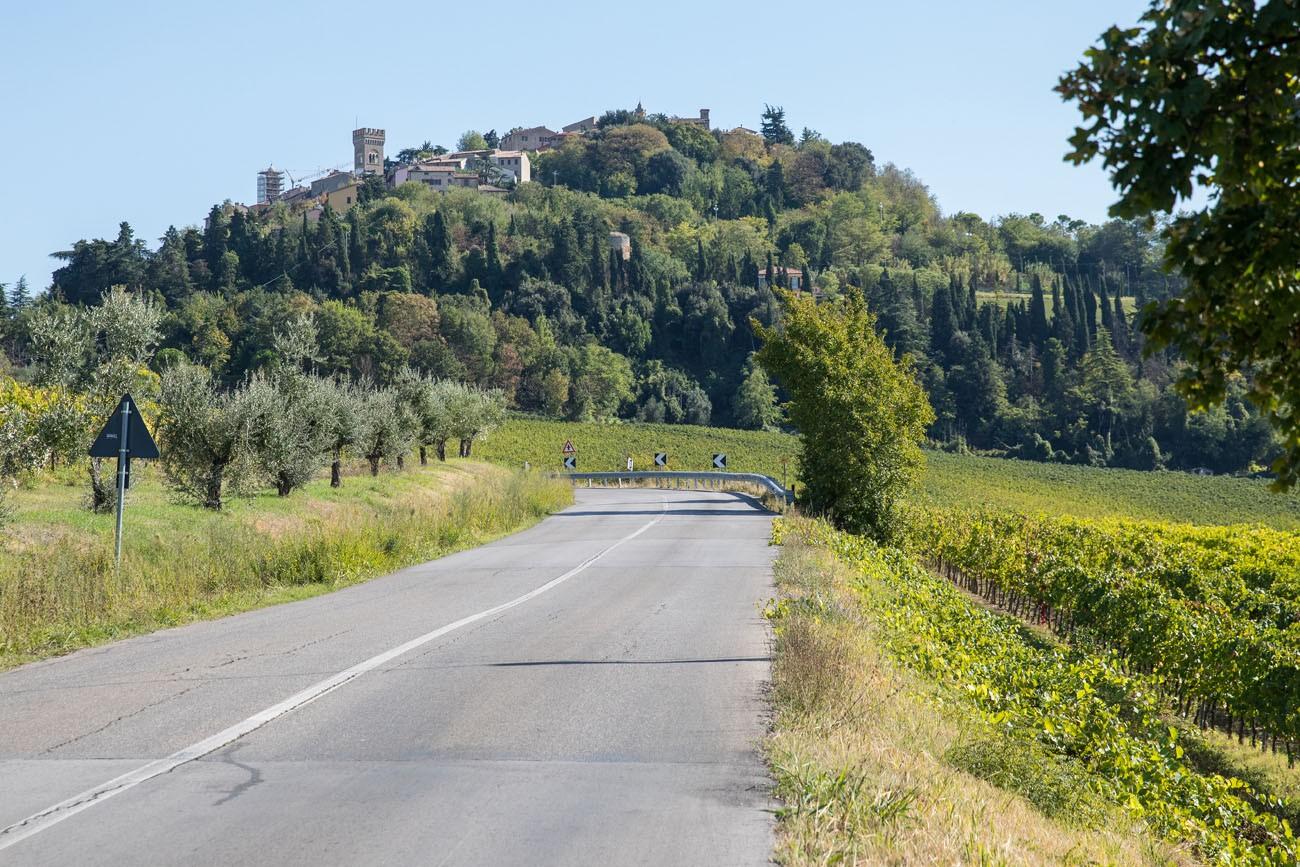 Road to Bertinoro