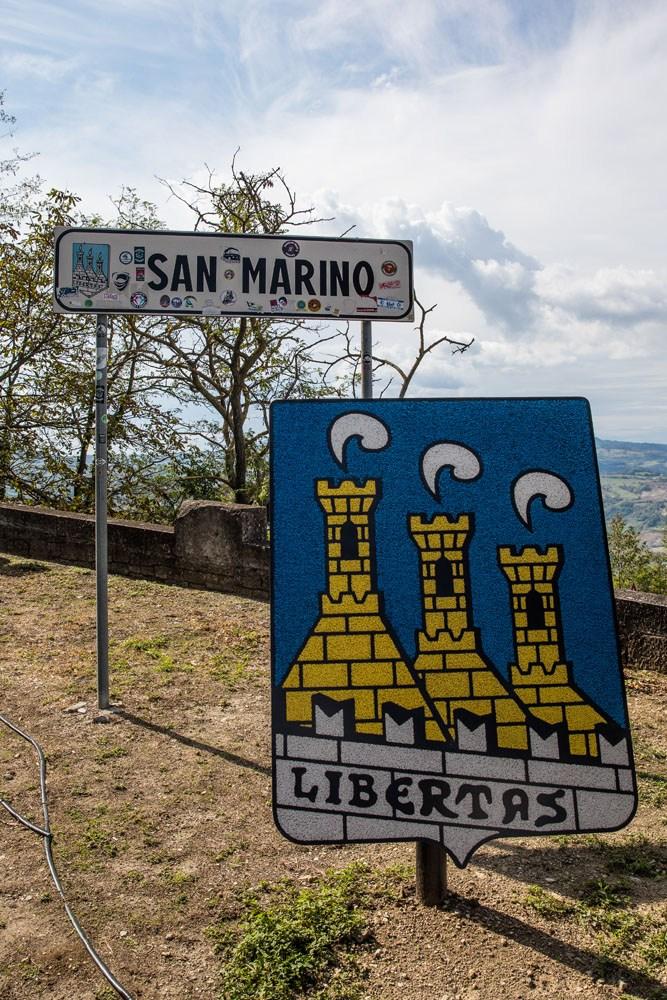 San Marino Sign