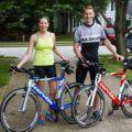 Tim and Julie Tri Bikes