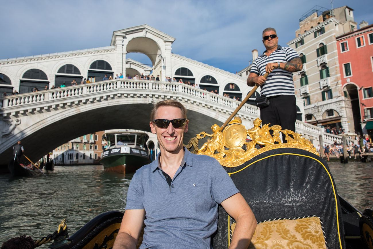 Tim in Venice