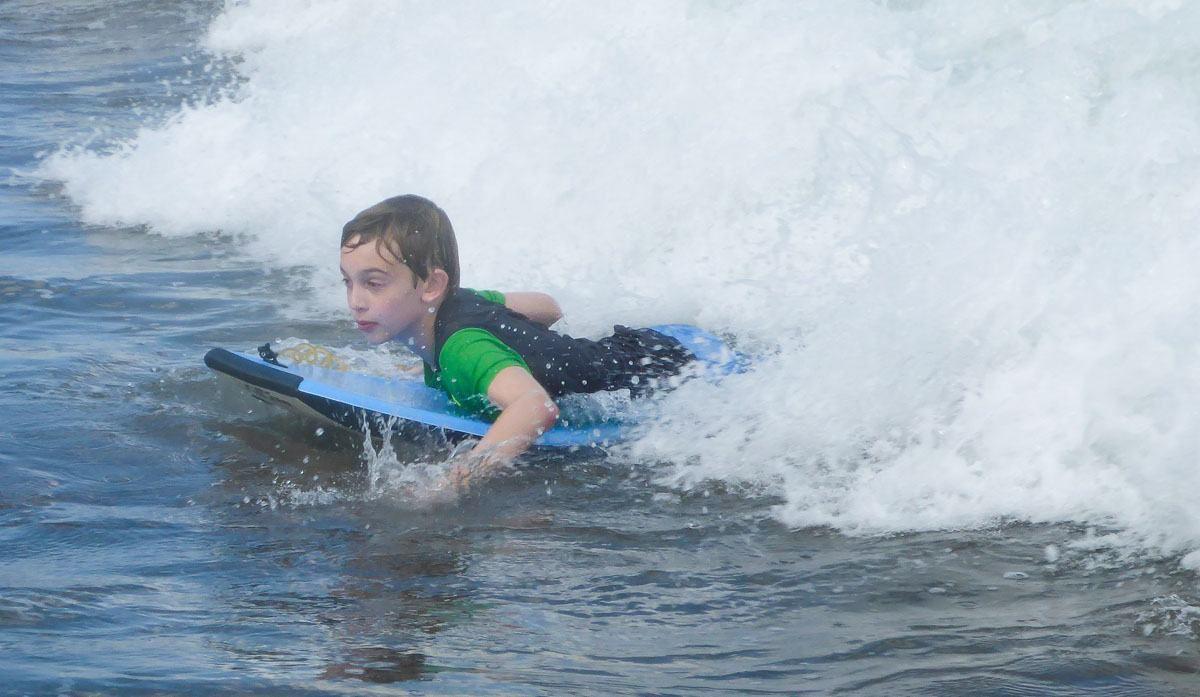 Tyler Boogie Boarding