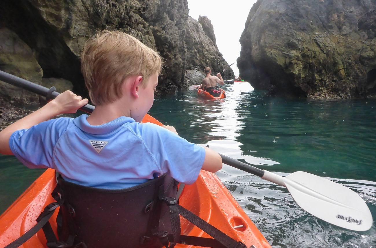 Tyler Kayaking