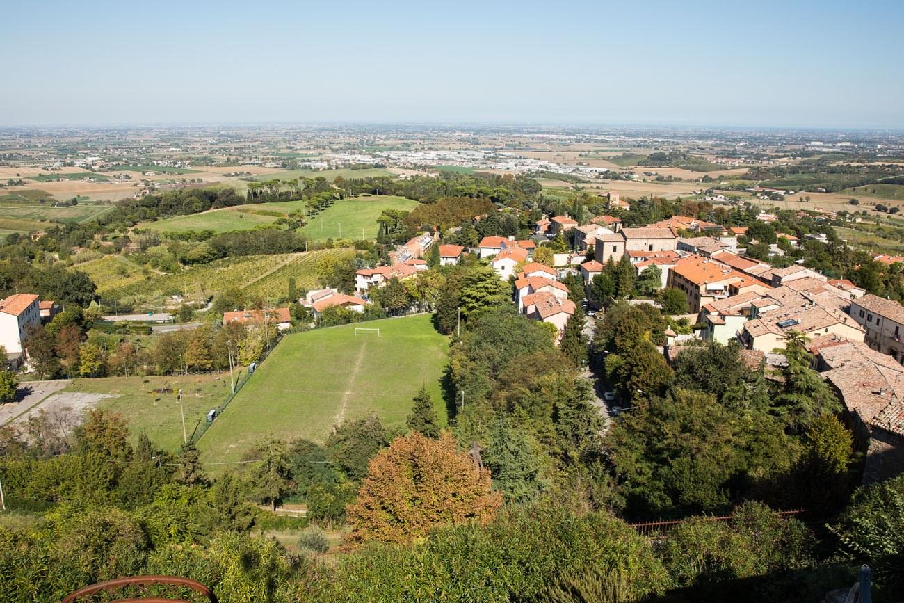 View from Bertinoro