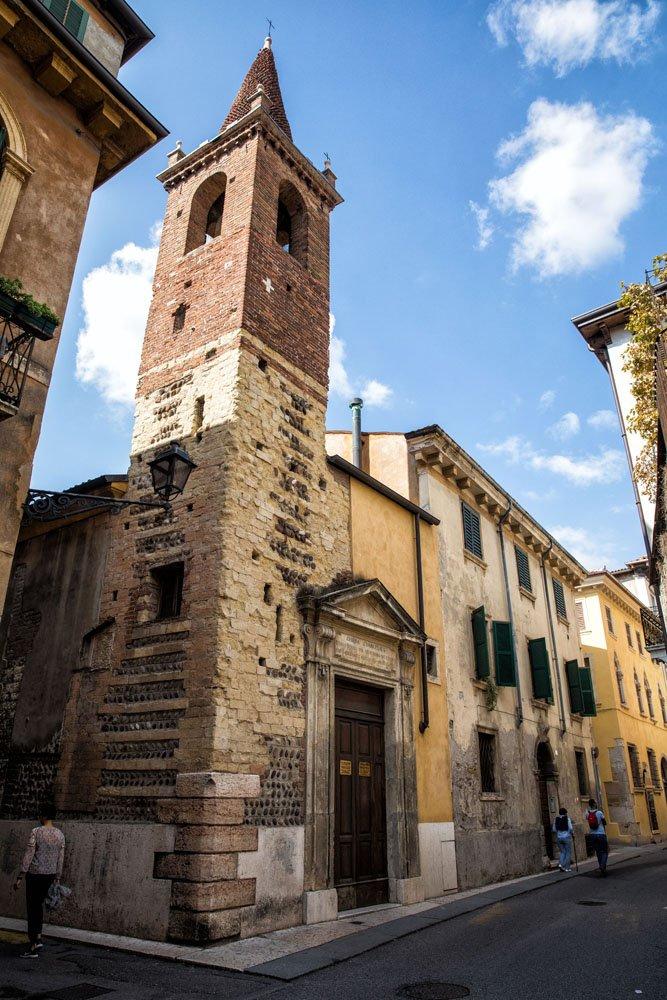 Walking through Verona