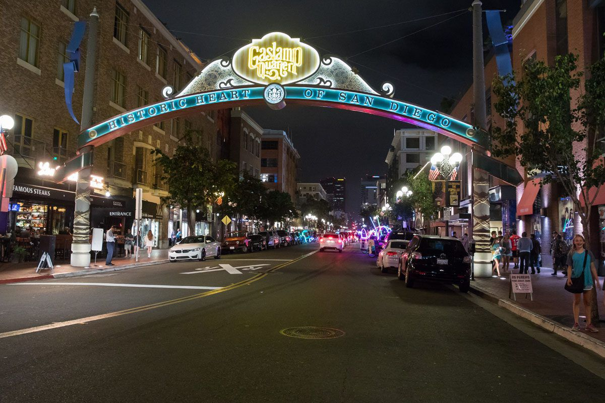 Gaslamp Quarter best things to do in San Diego